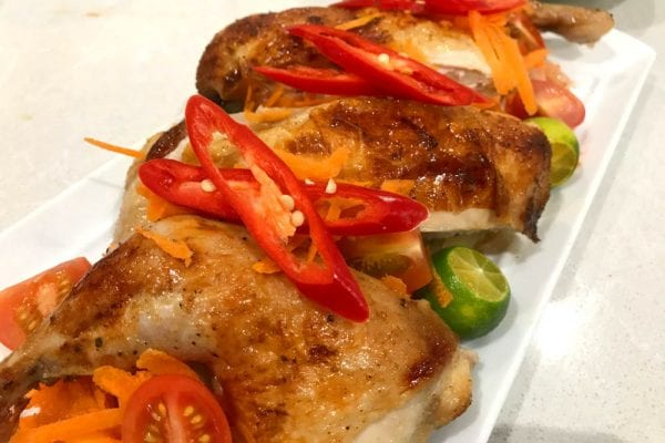chicken asado with chilli and lime food blog banner