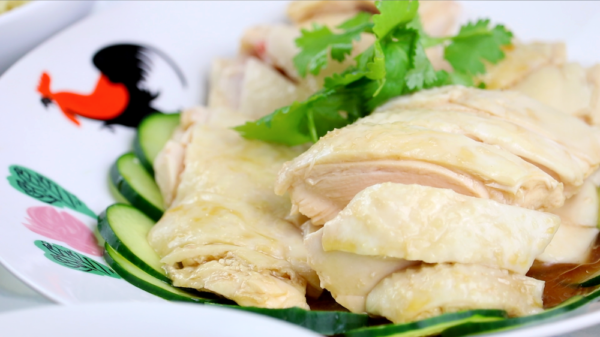 Plate of Chicken Rice