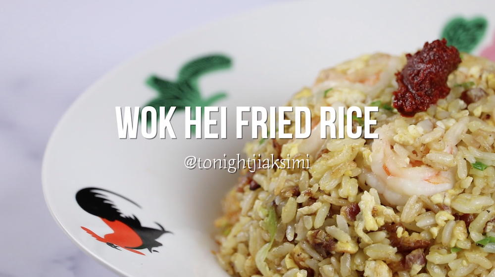 Wok Hei Shrimp Egg Fried Rice