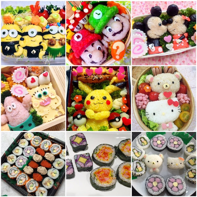 5 cute bento recipe ideas you can do with your kids while staying home (during COVID 19)