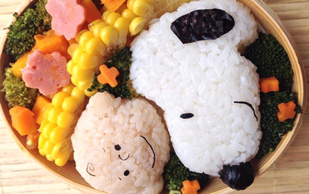 Snoopy & Friends Cute Bento